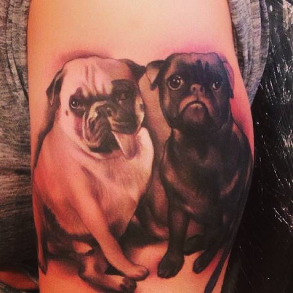 Amber-Rose-dog-tattoo