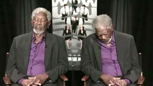 5310061-Morgan-Freeman-Takes-Snooze-Mid-Interview