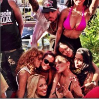 "Chris Brown Friends Blast Rihanna On Instagram ""She F— Too Many Ni–as"""