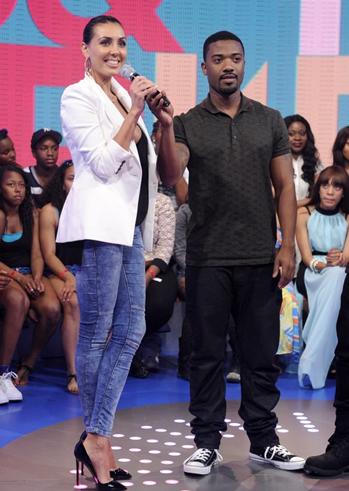 Luba at 106 & Park, May 22, 2013. (photo: John Ricard / BET)
