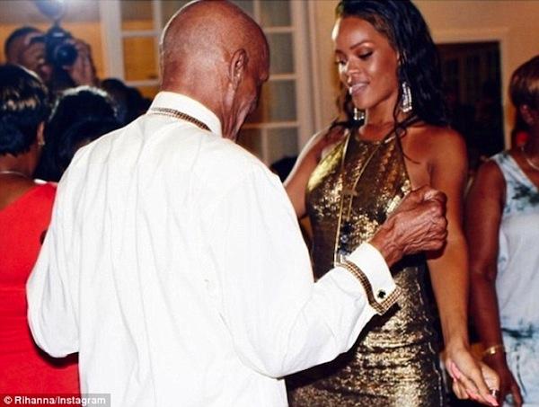 Rihanna-grandfather-birthday-bash-3