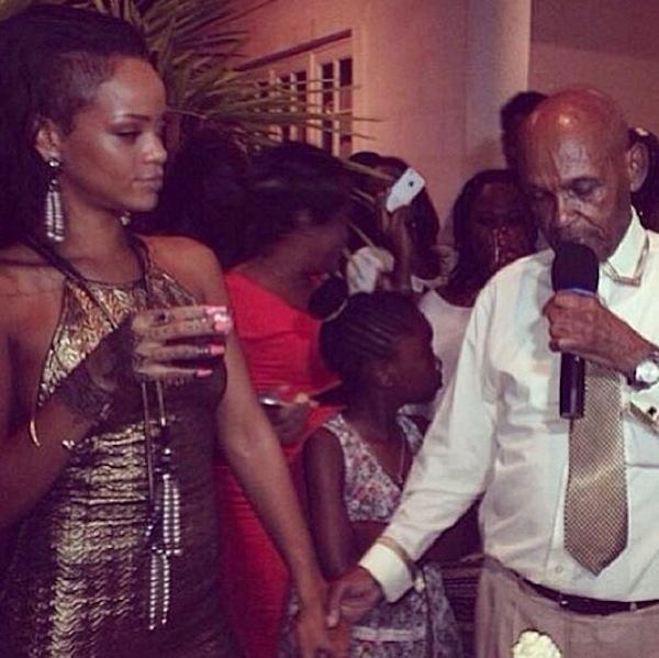 Rihanna-grandfather-birthday-bash-6