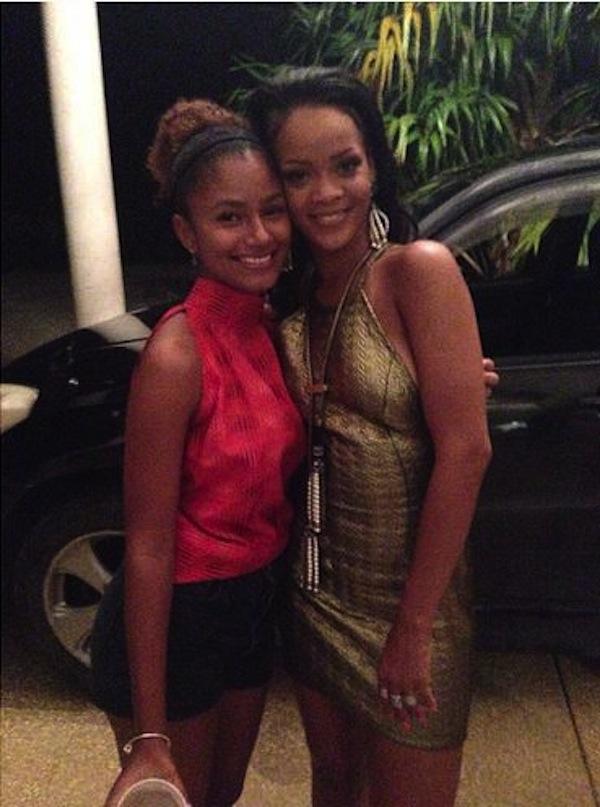 Rihanna-grandfather-birthday-bash-7