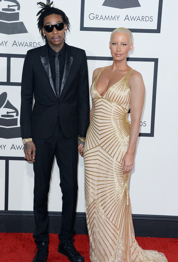 naeem-khan-ysl-wiz-khalifa-amber-rose-grammys-2014-red-carpet-05