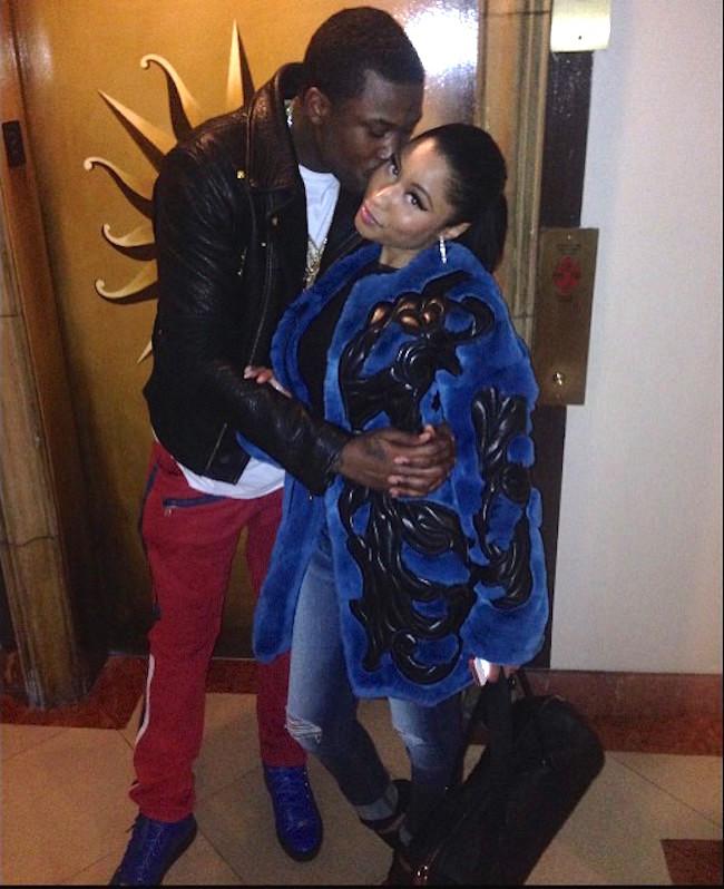 Meek-Mill-Nicki-Minaj-kissing