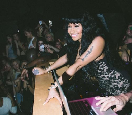 Nicki-Minaj-pre-grammy-party