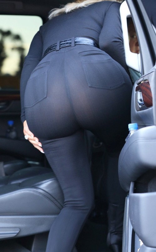Kim-Kardashian-Flashes-Her-G-String-in-Tight-See-Through-Pants-2-900x1454